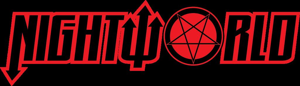 Third draft of logo for Image Comics' NIGHTWORLD