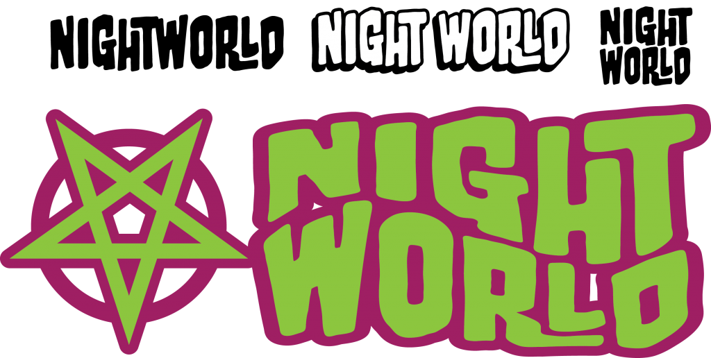 Fifth Draft of logo for Image Comics' NIGHTWORLD