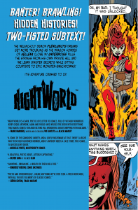 Picture of Back Cover Design by Steve Price for Image Comics' Nightworld #3